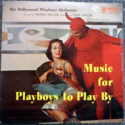 The Hollywood Playboys,devil,album cover