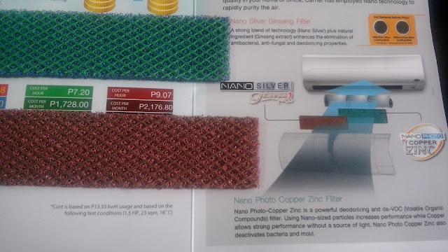 Nano Silver Ginseng and Nano Photo Copper Zinc.