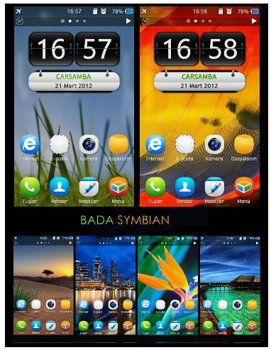theme samsung s8600 wave 3