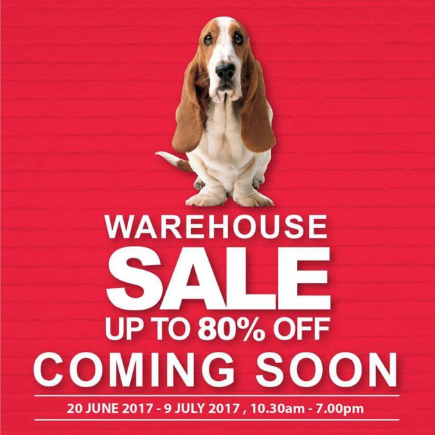 Hush Puppies Warehouse Sale 2017