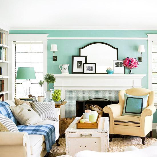 cottage living room design ideas room design ideas. Black Bedroom Furniture Sets. Home Design Ideas