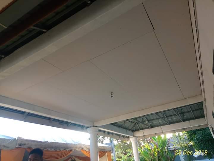 Pemasangan Siling Plaster di Anjung Rumah
