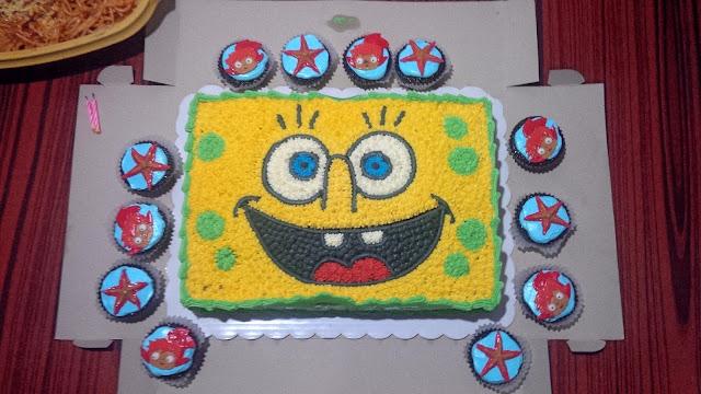Spongebob cake Laagan Kaayo
