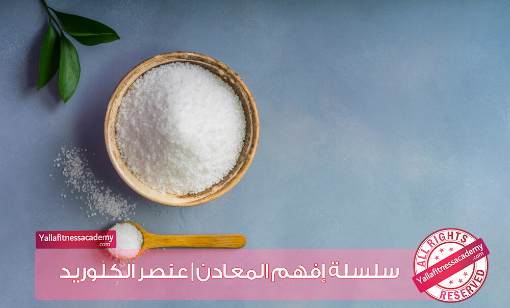 سلسلة إفهم المعادن | عنصر الكلوريد Chloride