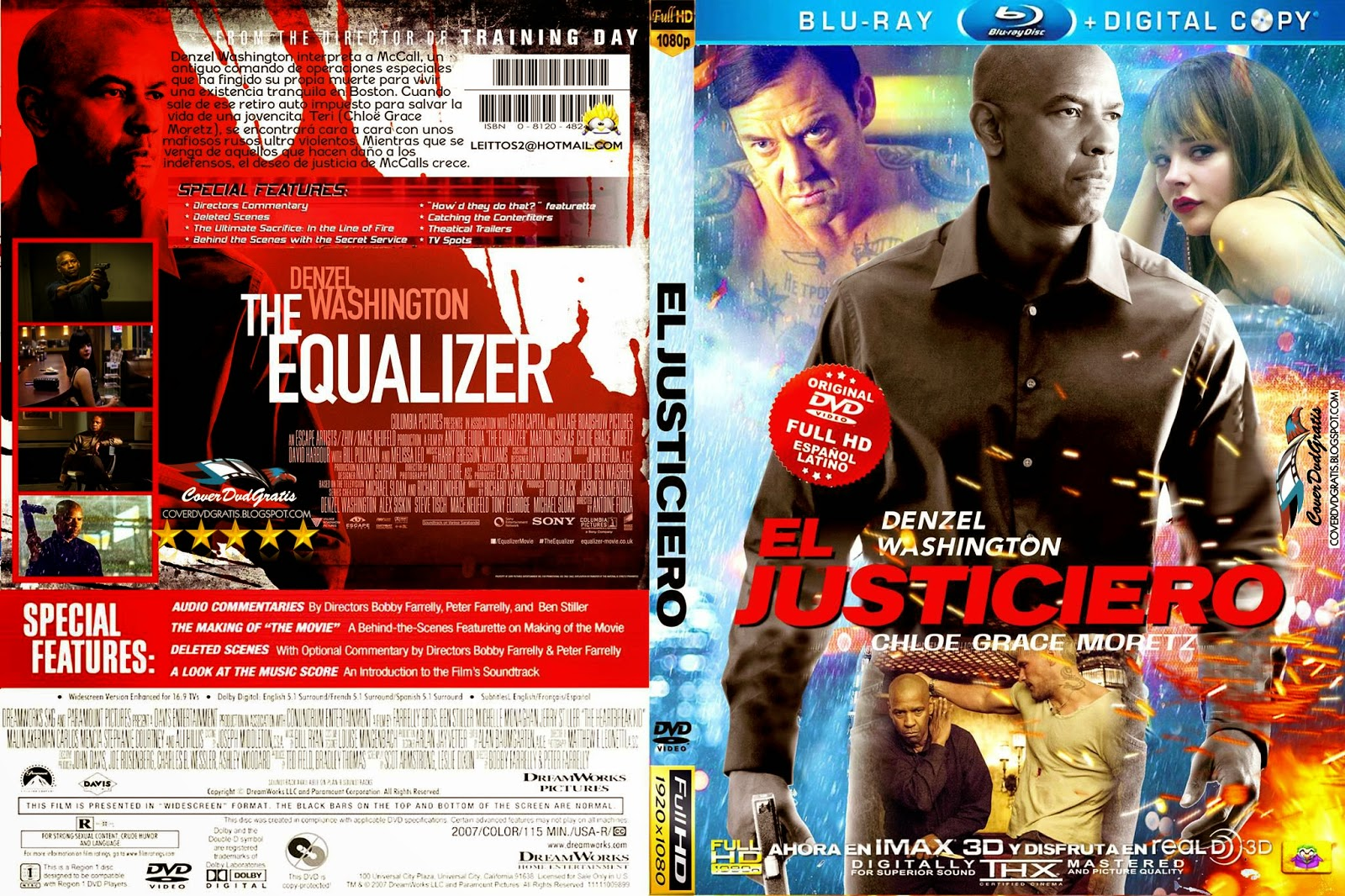 Czeshop Images The Equalizer Dvd Cover
