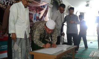 Allahu Akbar! Sejumlah Ormas Islam dan Masyarakat Hadiri Deklarasi Aliansi Anti Syiah Nasional di Palu