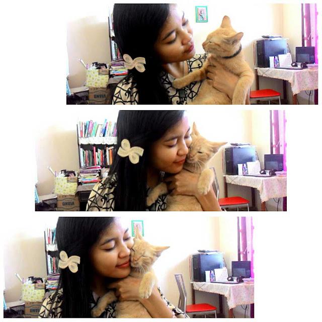 Aku dan kucingku, Kuning.