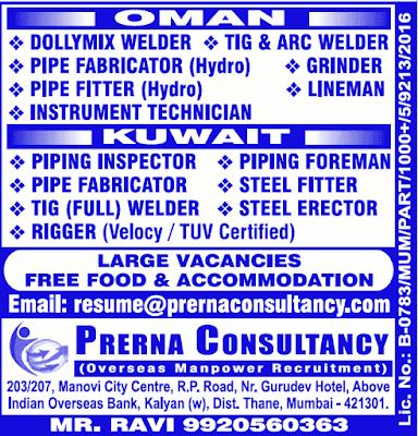Oman Kuwait Gulf Jobs