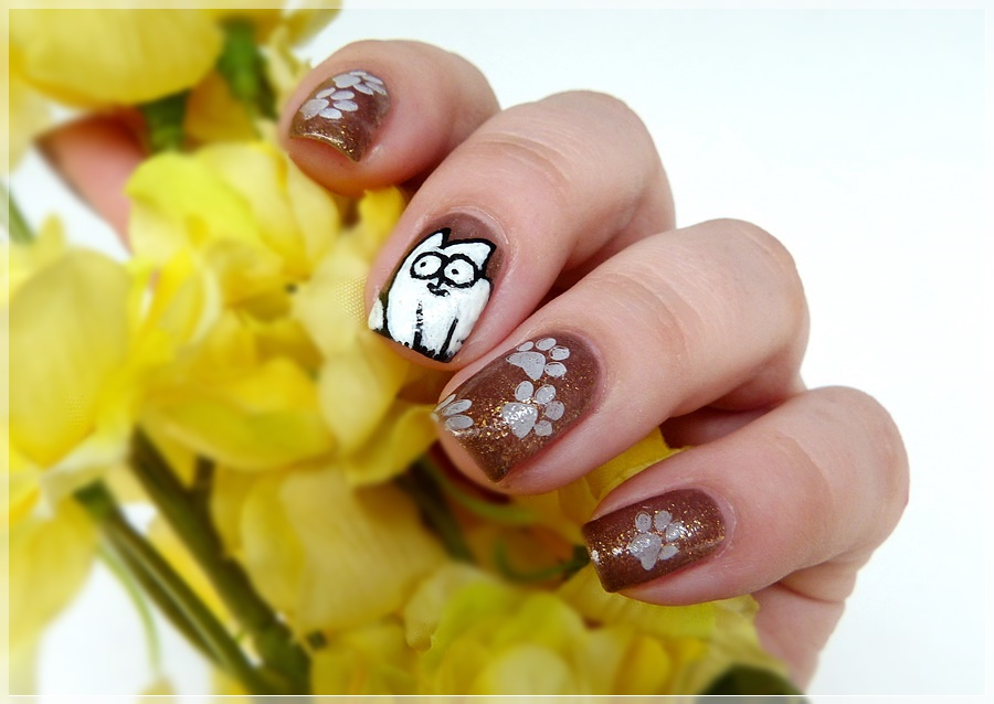 Simon's Cat Nailart
