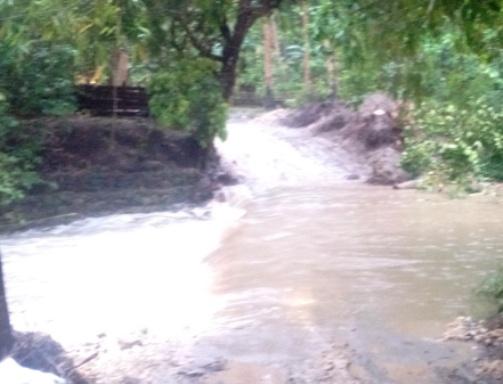 Jembatan Darurat Terapung S.Appabatu Bergeser, Jalur Alternatif Juga Banjir, Dishubkominfo ,Keluarkan, Himbauan