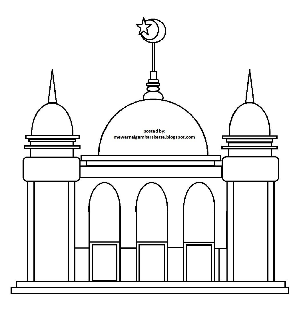58 Contoh Gambar Karikatur Masjid Karitur