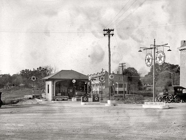Old Photos of US Gas Stations in the 1920's ~ vintage everyday