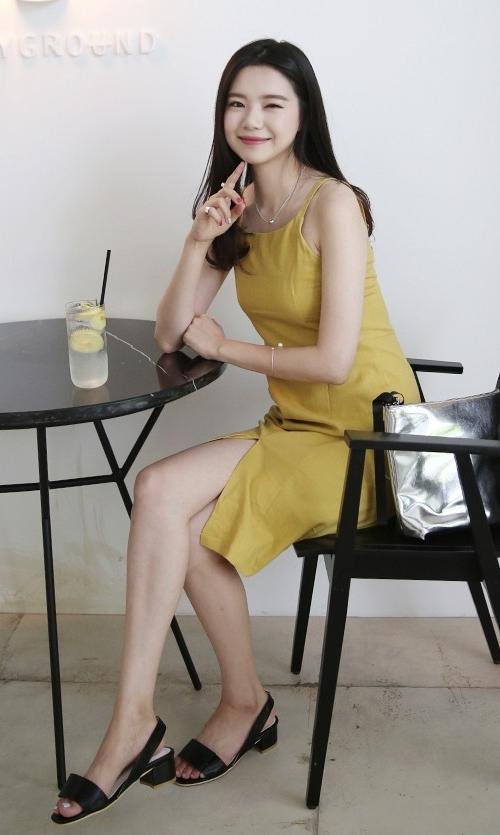 Sleeveless Vent Front Dress