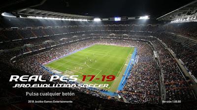 PES 2017 Real PES 17-19 Patch Season 2018/2019 by Jostike Games
