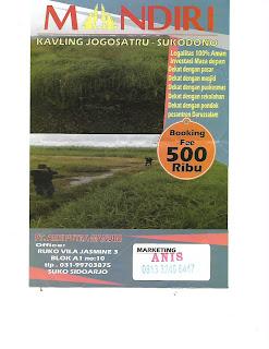 Daftar Harga Tanah Kavling Di Sidoarjo