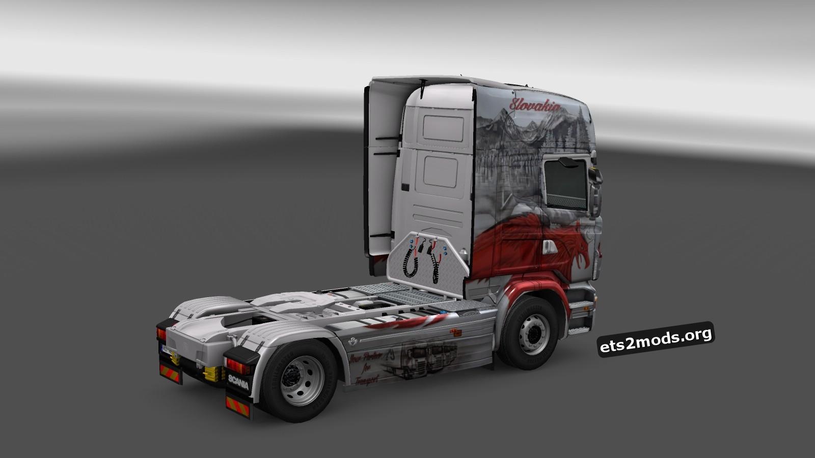 LMJ Lapšanský 25 years Skin for Scania RJL