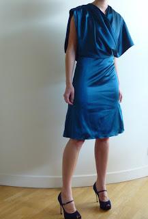 robe de cocktail par modéliste couture sur mesure 78