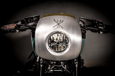 BMW R NineT  Custom Light by  VTR Customs