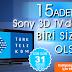 15 Sony 3D TV Kazanma Şansı