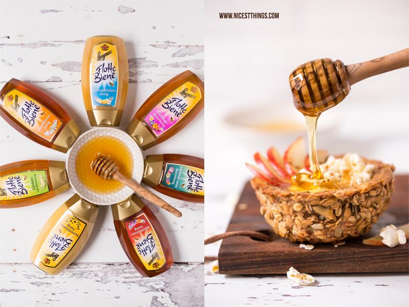 Langnese Honig Flotte Biene Rezept Granola Cups