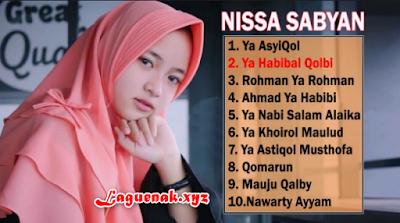 Download Kumpulan Lagu Religi Nissa Sabyan Mp3 Full Album Terbaru ( Sholawat )
