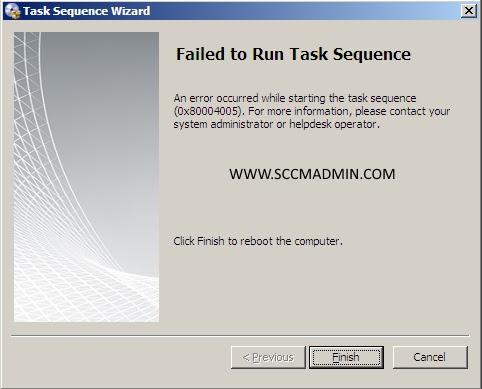 System Center Configuration Manager 2012 SP1 – OS Deployment