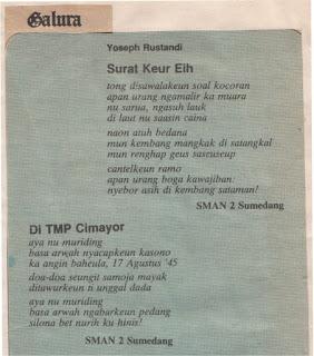 Sajak Yus R. Ismail