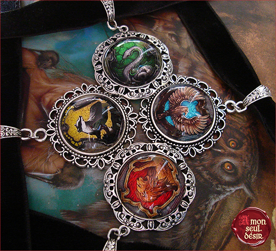 collier harry potter poudlard gryffondor serpentard serdaigle poufsouffle necklace gryffindor slytherin ravenclaw hufflepuff hogwarts jewelry
