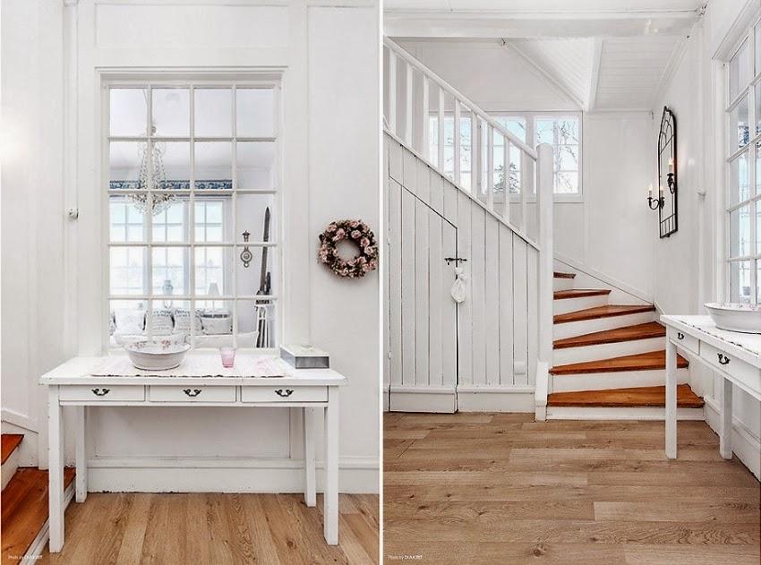 Fotele w niebieską kratę w skandynawskiej aranżacji, wystrój wnętrz, wnętrza, urządzanie domu, dekoracje wnętrz, aranżacja wnętrz, inspiracje wnętrz,interior design , dom i wnętrze, aranżacja mieszkania, modne wnętrza, styl skandynawski, białe wnętrze, shabby chic,