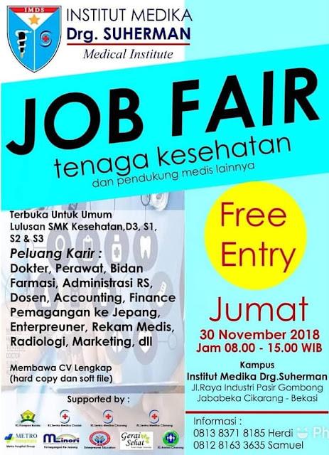 Job Fair Khusus Tenaga Kesehatan
