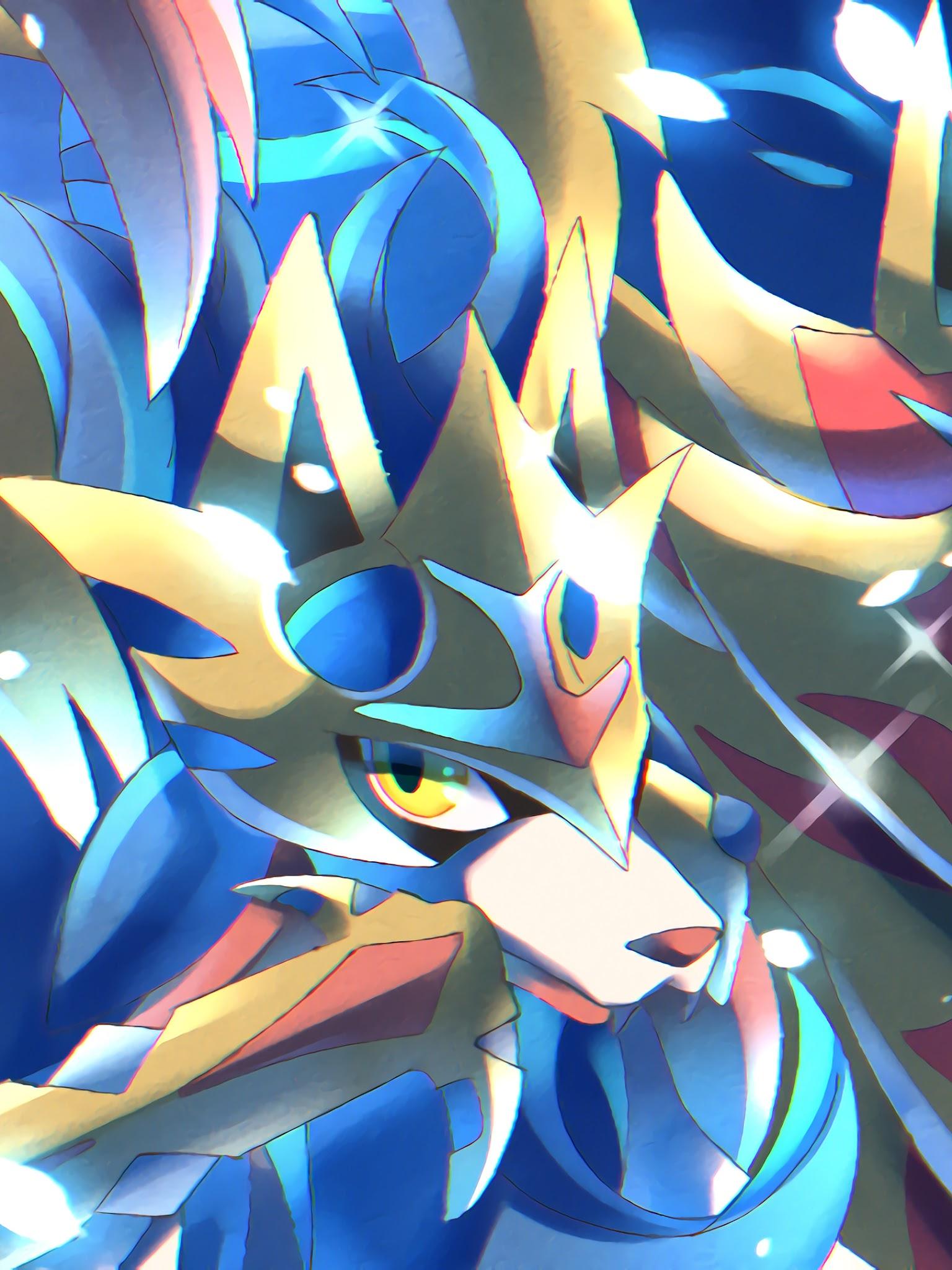 Zacian And Zamazenta Pokemon Sword And Shield 4k Wallpaper 65