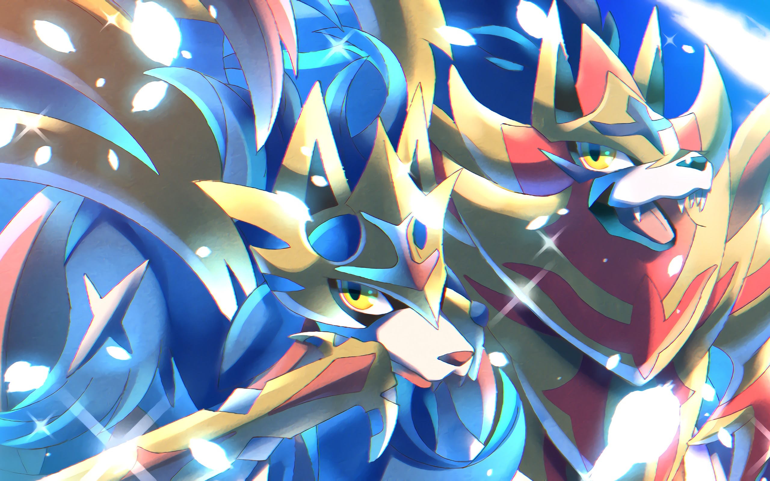 Zacian And Zamazenta Pokemon Sword And Shield 4k Wallpaper 65