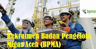 Lowongan kerja calon pegawai BPMA di Aceh