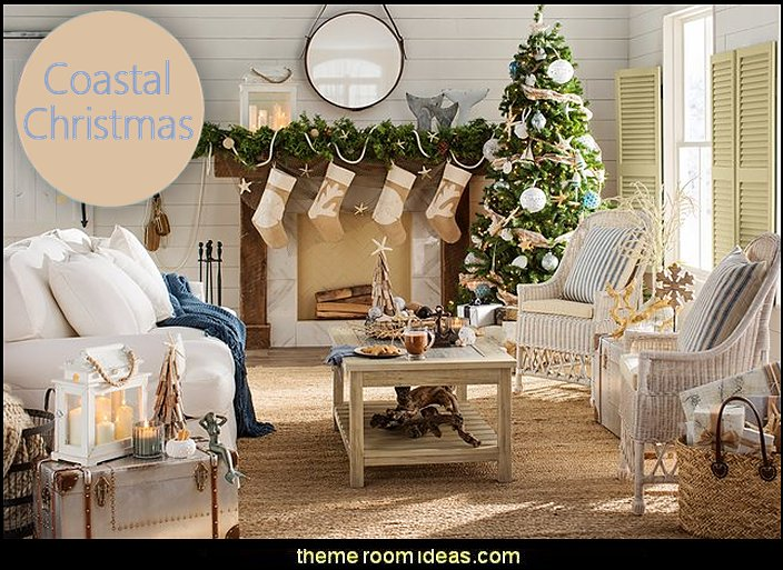 Decorating theme bedrooms - Maries Manor Coastal Christmas - coastal christmas decorations
