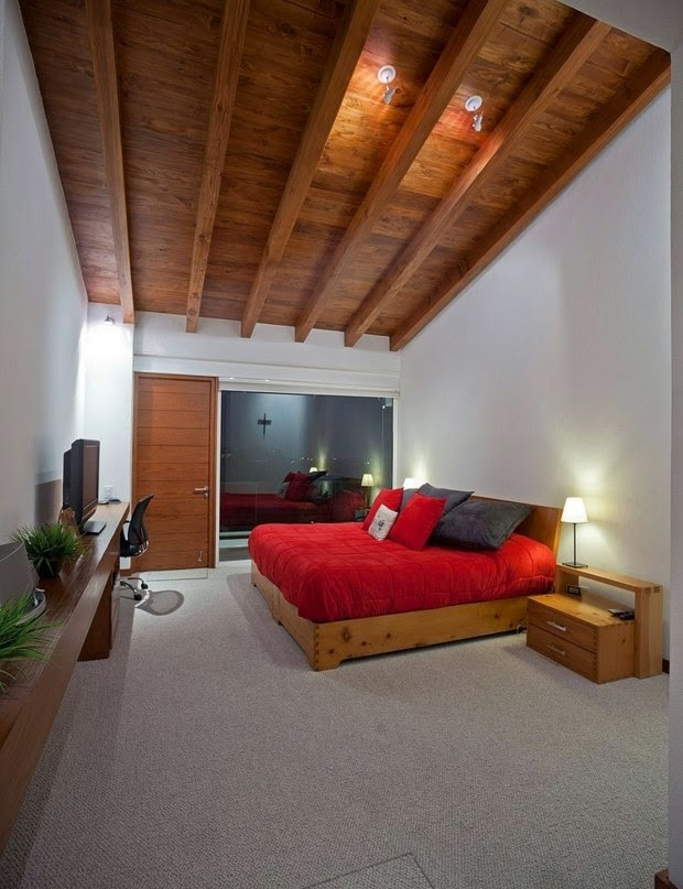 32 Ideas for false ceiling designs made of wood ceiling panels