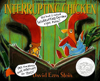 https://www.amazon.com/Interrupting-Chicken-David-Ezra-Stein/dp/0763641685