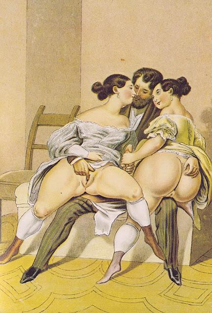 Peter Fendi - L'amico comune - pornografia - erotismo - arte