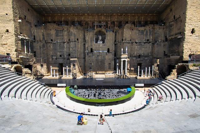 Orange-teatro romano