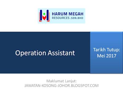Jawatan Kosong Di Harum Megah Resources Sdn Bhd