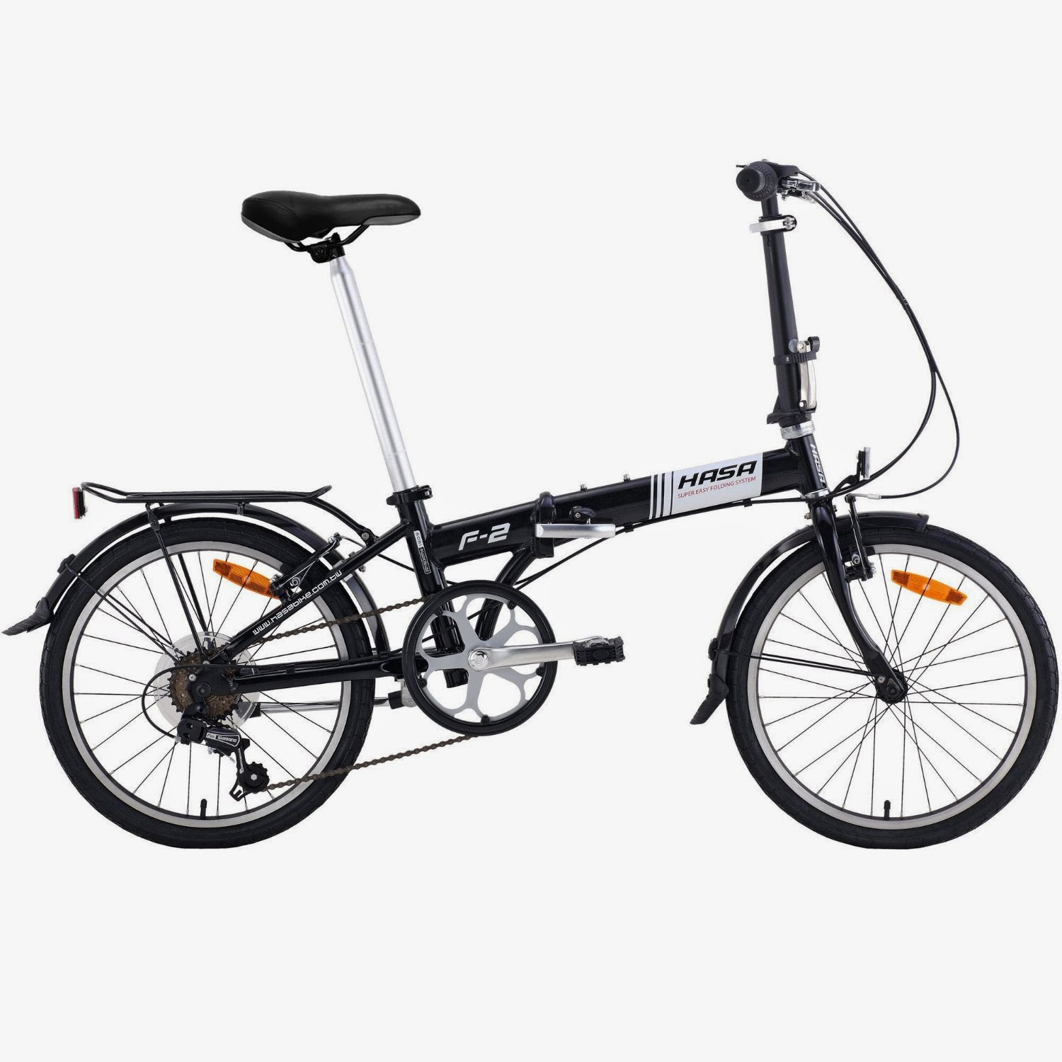 Exercise Bike Zone: Hasa Folding Foldable Bike SRAM 6