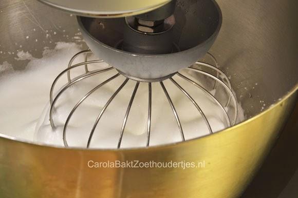 eiwit voor merengues kloppen
