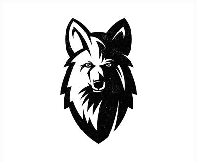 Trend Desain logo Tahun 2018 - Half Shadow Logo