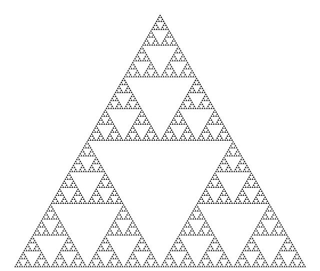 Sierpinski fractal