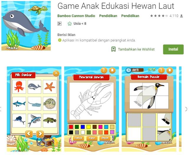 Game Edukasi Anak Terbaik