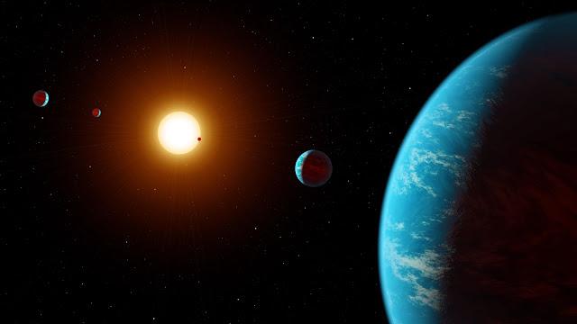 Planetary System Kepler K2-138
