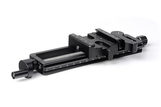 Sunwayfoto MFR-150 Macro Focusing Rail side/top view