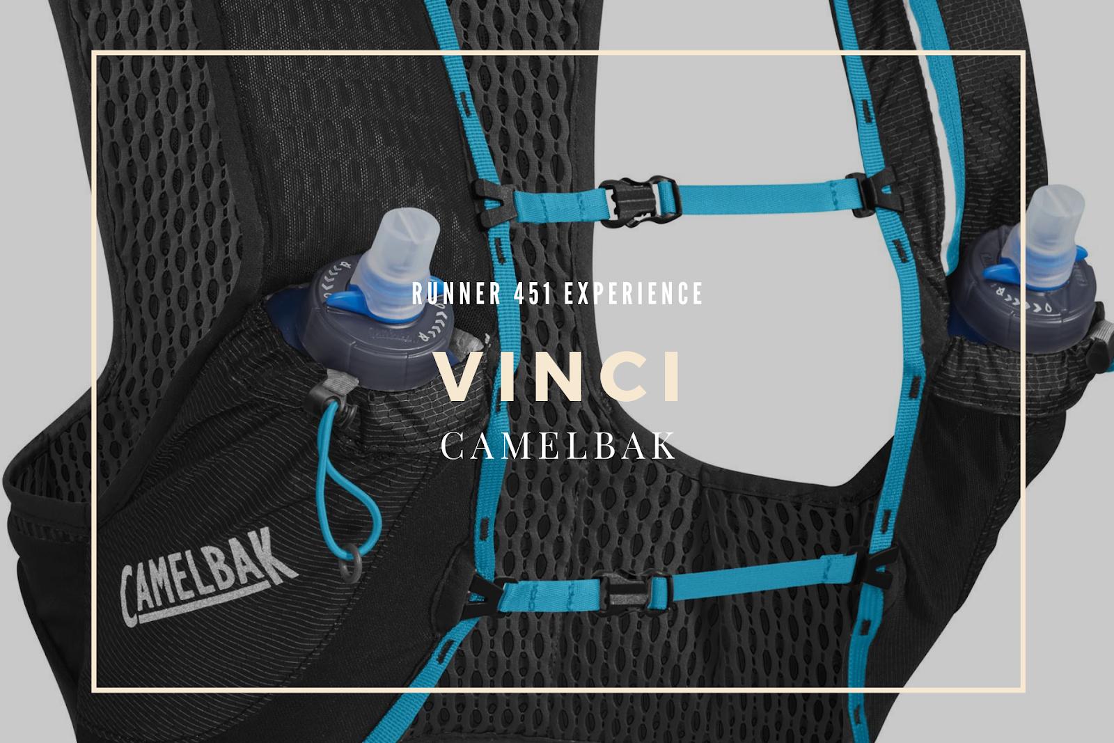 Vinci Camelbak agli stage di corsa di Runner 451