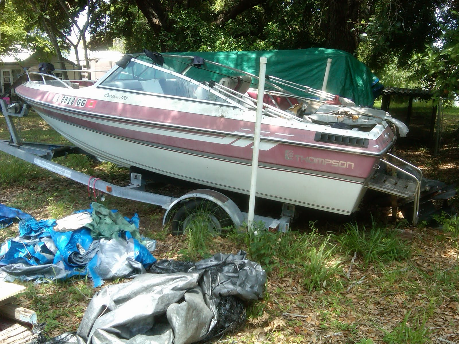 1990 Thompson Cutlass 170 Boat For Sale By Auction See The Ebay Auction To Buy This Boat