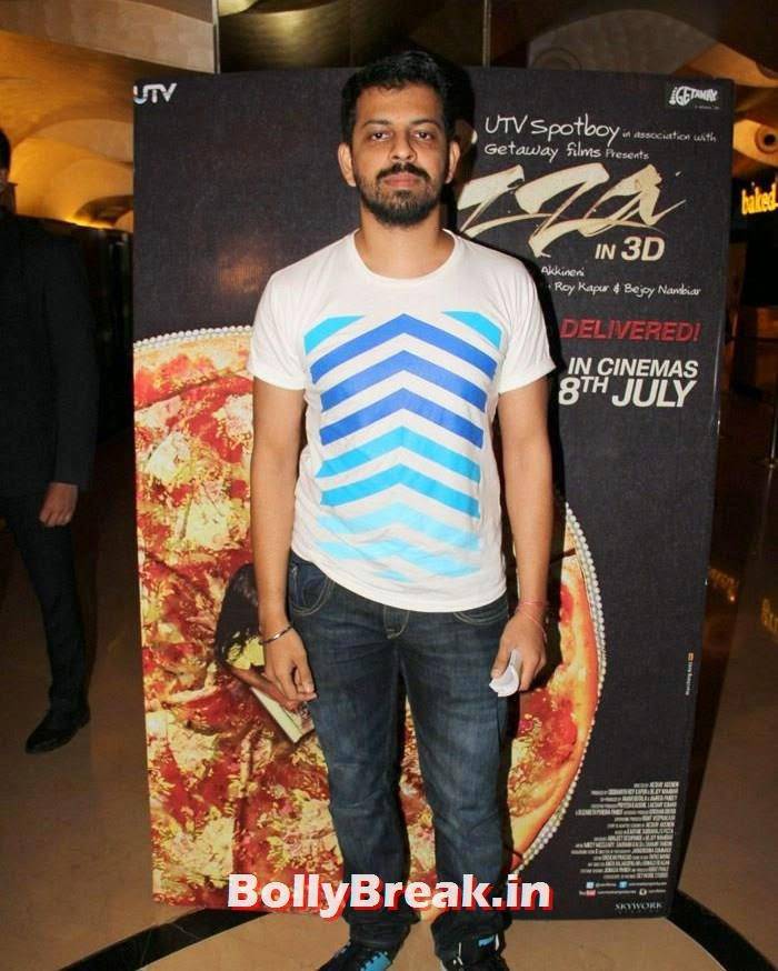 Bejoy Nambiar, Dipannita Sharma, Parvathy Omanakuttan Pizza Movie Screening Pics