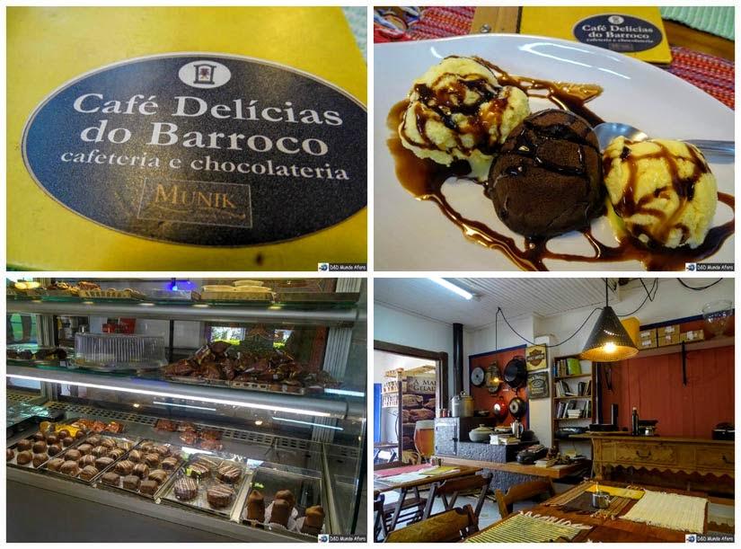 Diário de Bordo - Café Delícias do Barroco - onde comer em Tiradentes